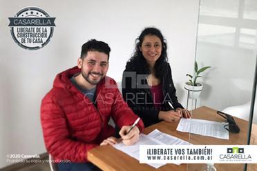 Paola y Manuel tendrán su Casarella en Camet Norte en el Partido de Mar Chiquita.