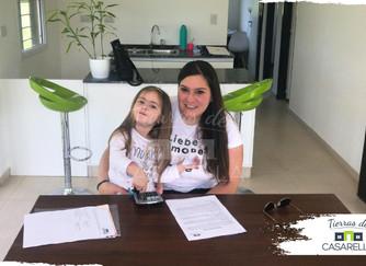 Otra familia se suma a Tierras de Casarella