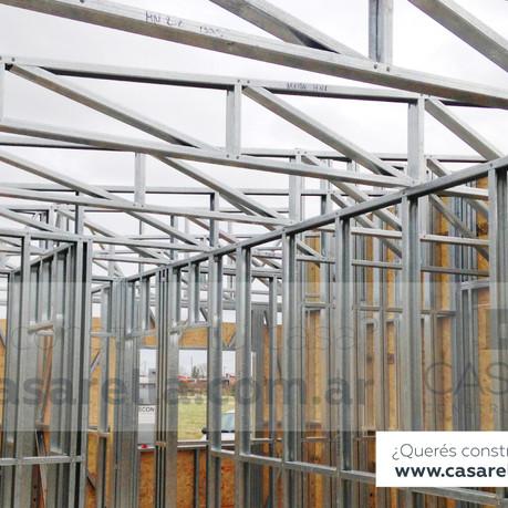 Mirá los avances de la primera construcción en Tierras de Casarella.