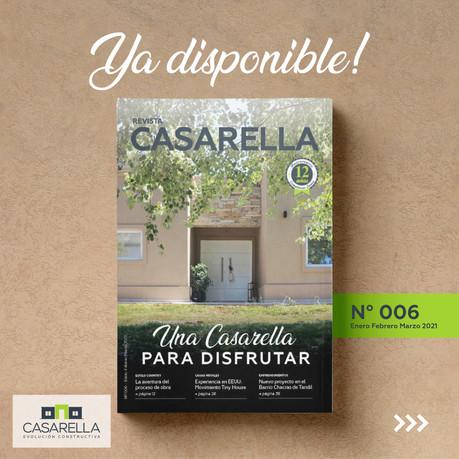 Salió la sexta edición de REVISTA CASARELLA