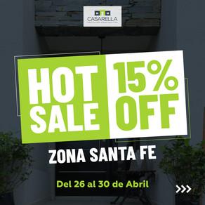 HOT SALE: Zona Santa Fe 15% OFF