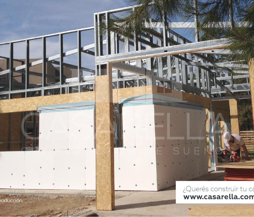Construcción Steel Frame en Cañuelas