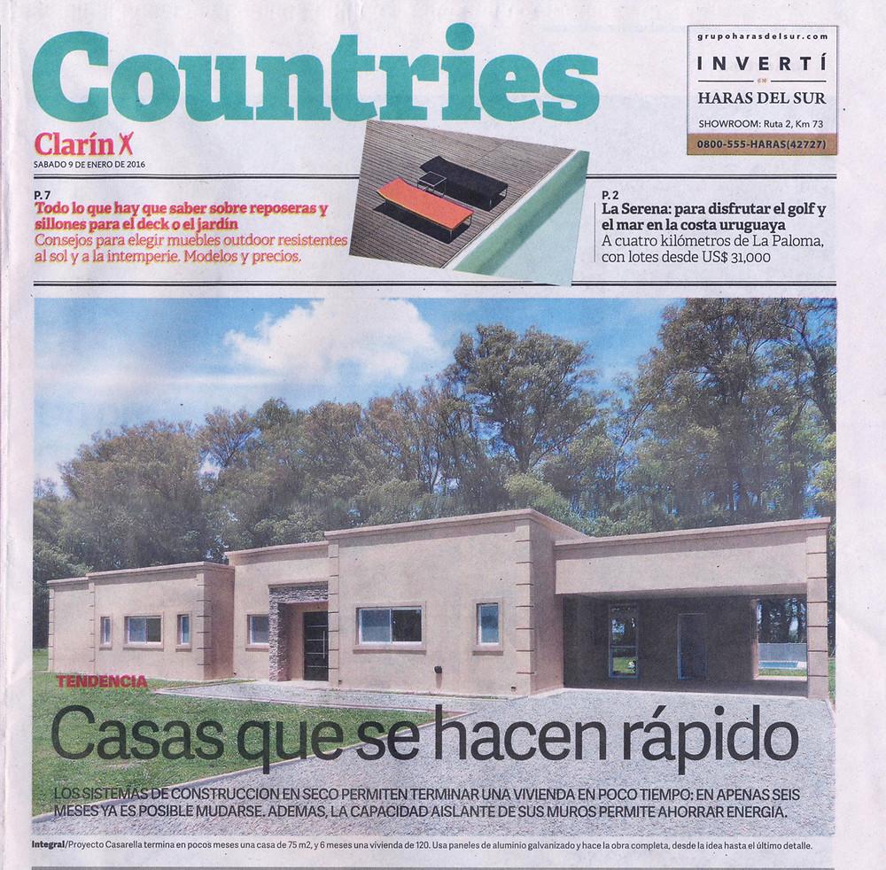 Casarella en Clarín Countries