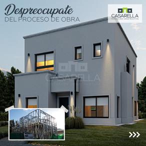Comenzamos la construcción de esta Casarella en Benavídez