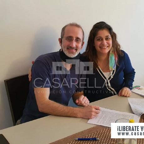 ¡Una nueva familia tendrá su Casarella en San Miguel del Monte!