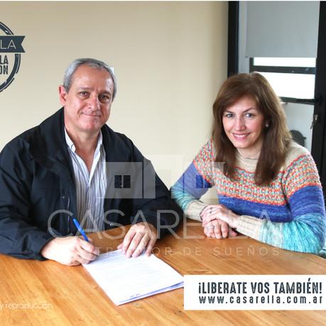 Una nueva familia tendrá su Casarella en el Barrio Comarcas de Luján!