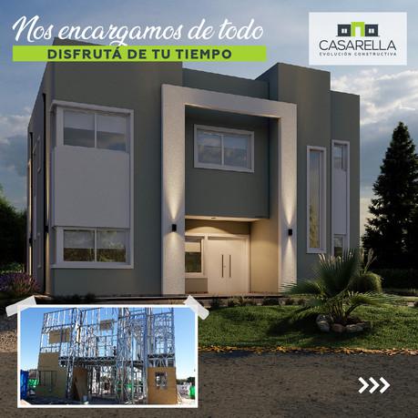 Construimos en el Barrio Santa Lucía en Pilar del Este