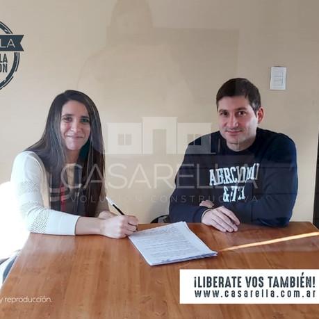 ¡Una nueva familia tendrá su Casarella en Miralagos!