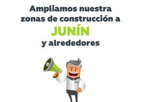 ¡Ahora Casarella Construye en Junín y alrededores!