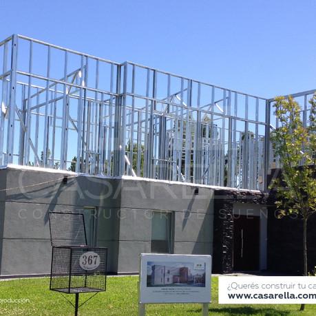 Les mostramos una ampliación Steel Frame en Cardales Village.