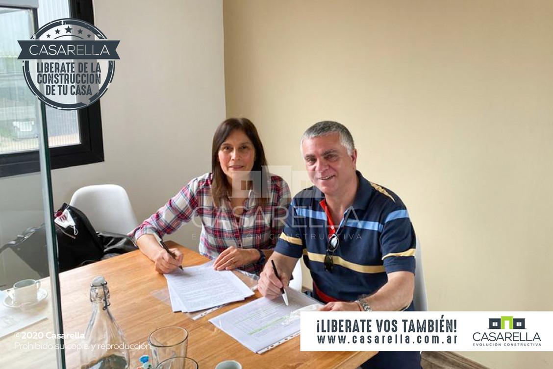 Adriana y Oscar tendrán su Casarella en el Barrio Chacras de Tandil
