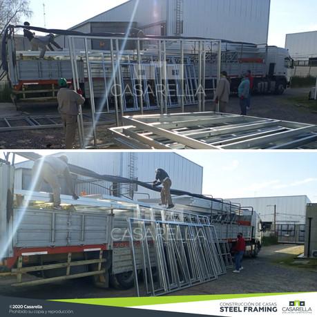 2da tanda de paneles Steel Frame para Chañar Ladeado