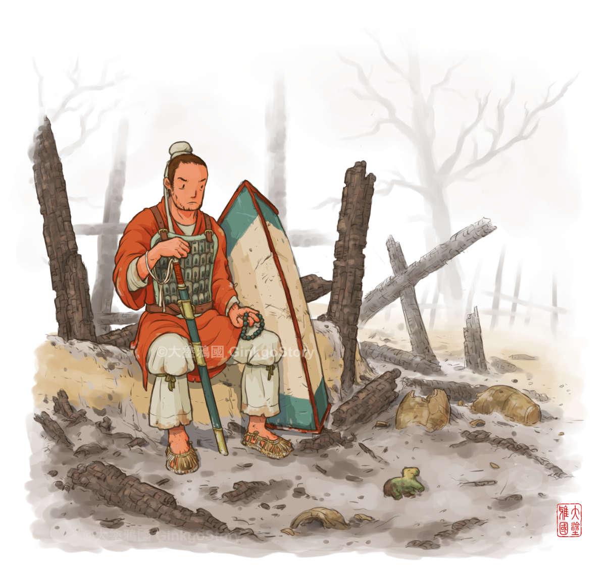 Sourthern Northern Dynasty Warrior