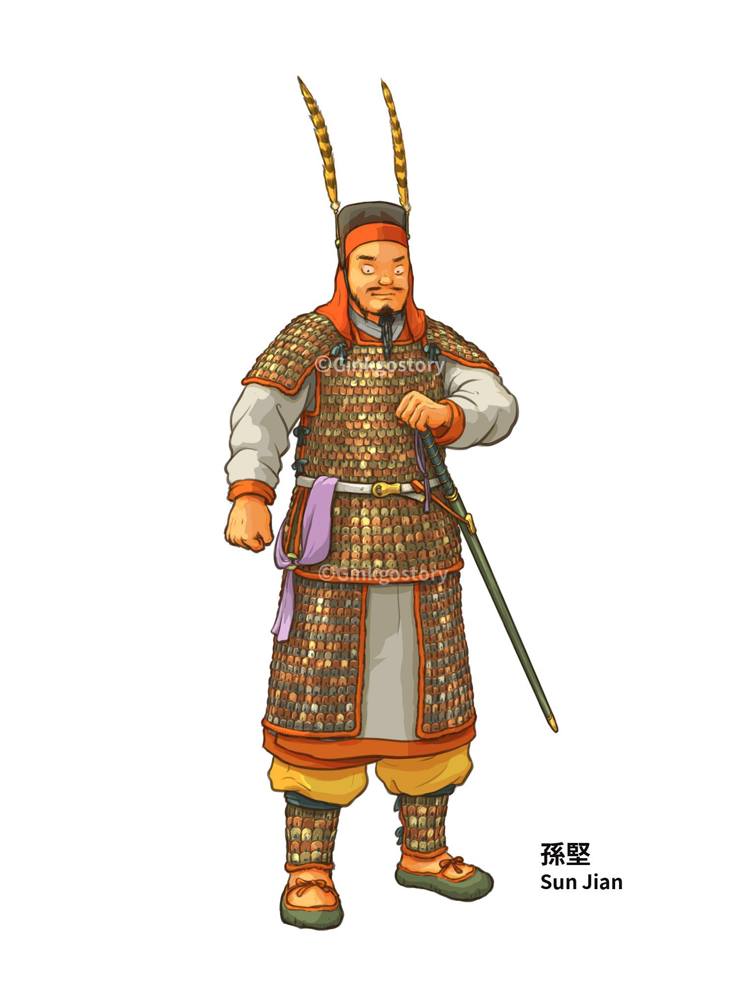 Three Kingdoms: Sun Jian