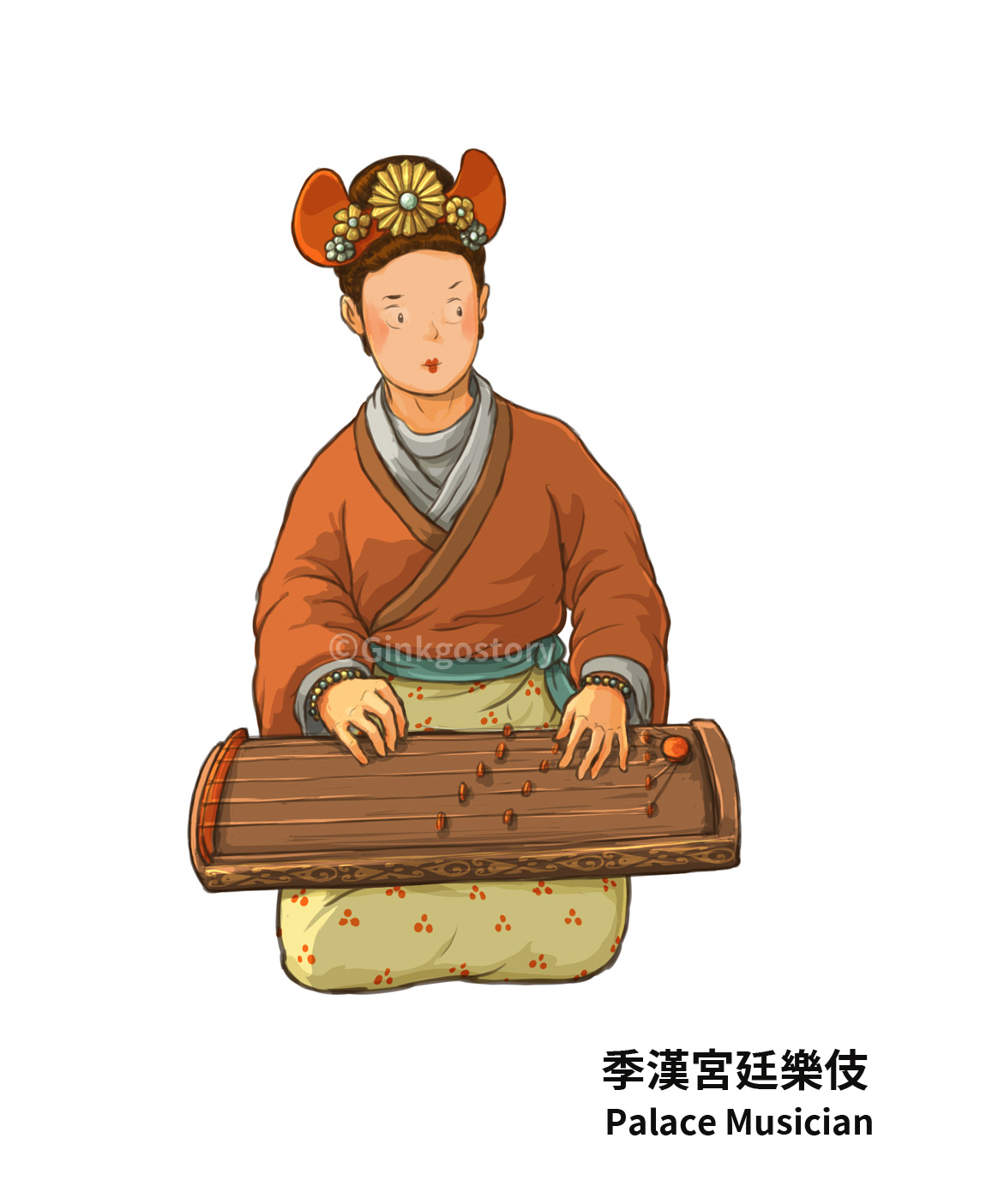 Three Kingdoms: Palace Musician