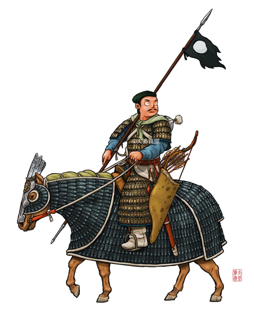 Heavy Cavalry of Jin Dynasty