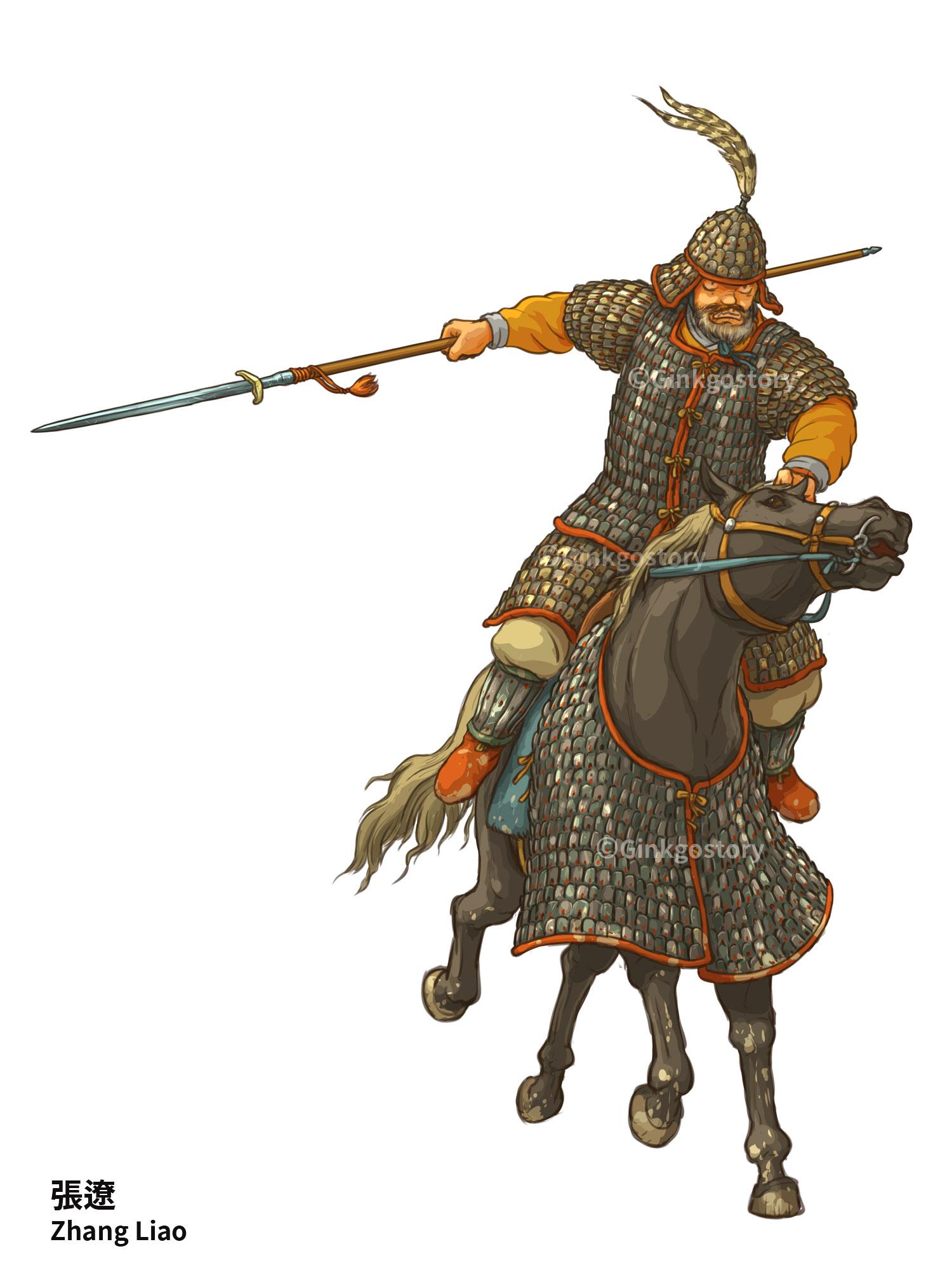 Three Kingdoms: Zhang Liao