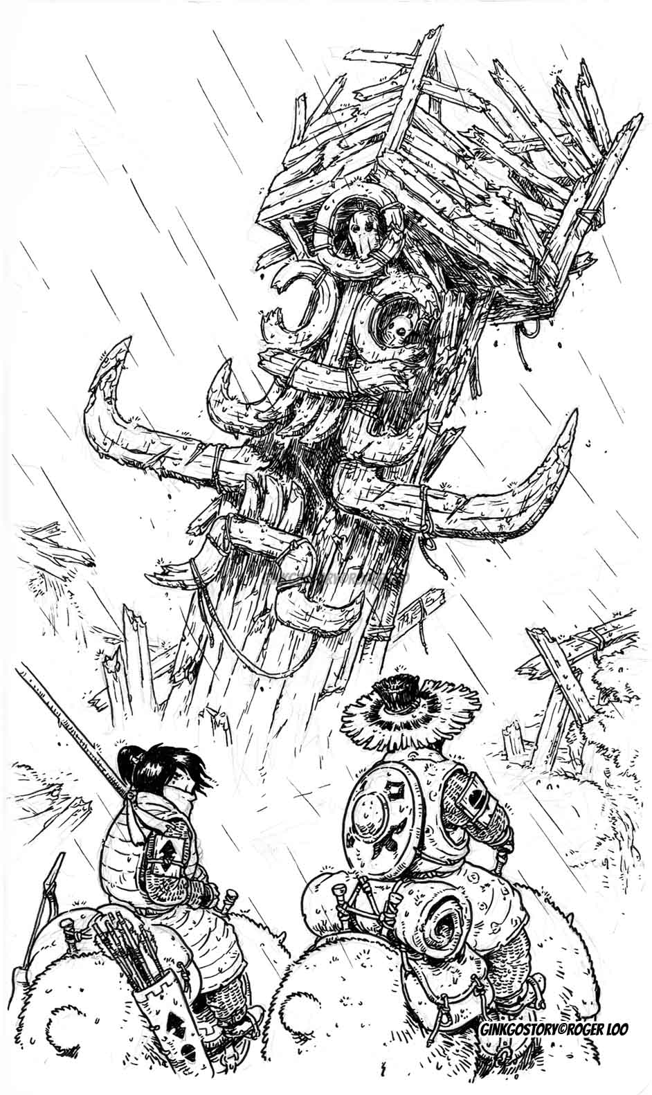 Wanderers: Mysterious Totems