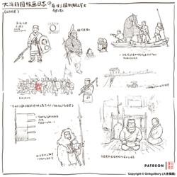 Sketch: Three Kingdoms Warriors