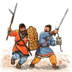 Eastern Han's Warrior