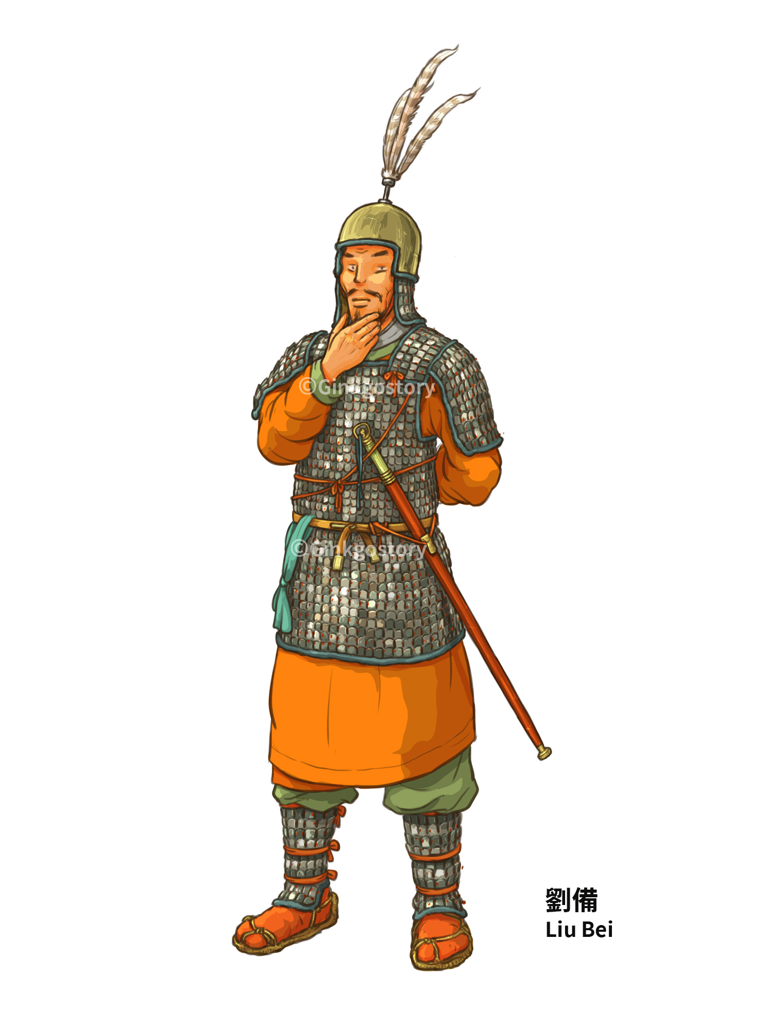 Three Kingdoms: Liu Bei