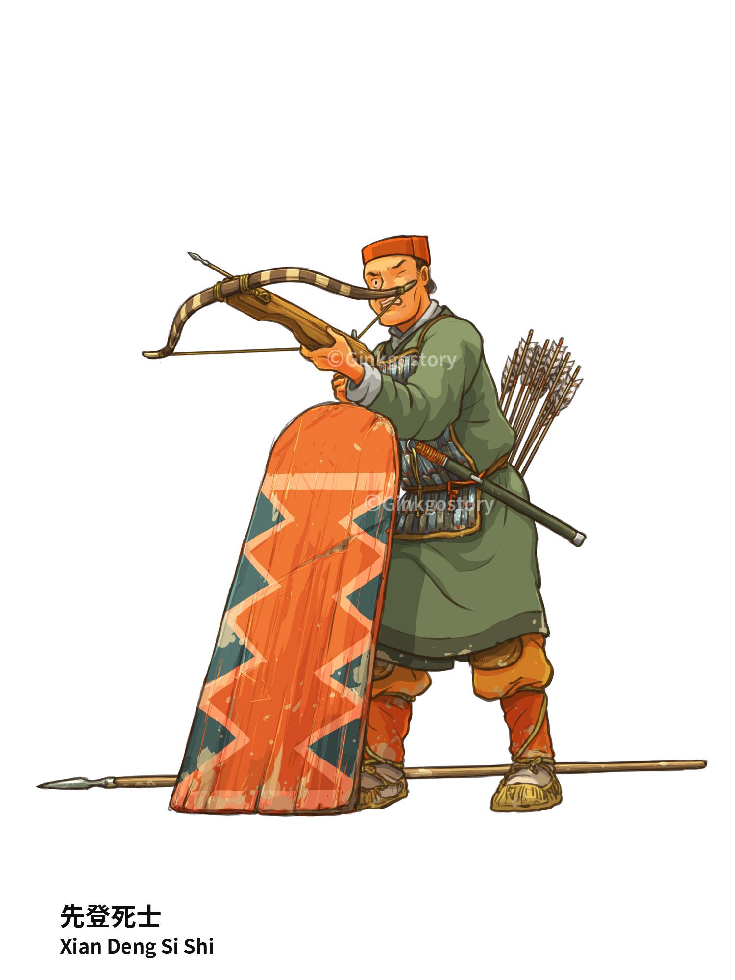 Three Kingdoms: Xian Deng Si Shi