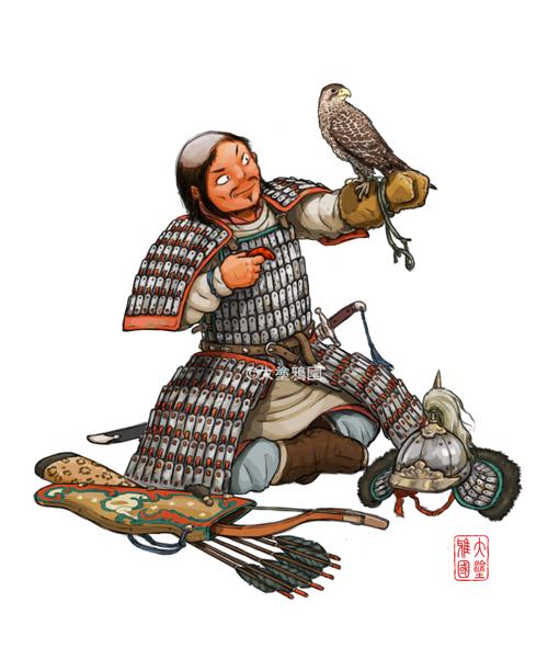 Liao Dynasty (Khitan) cavalryman