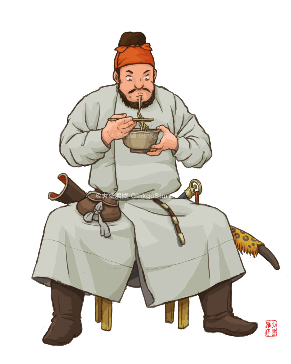 Tang Dynasty Foodie Ceremonial Guard