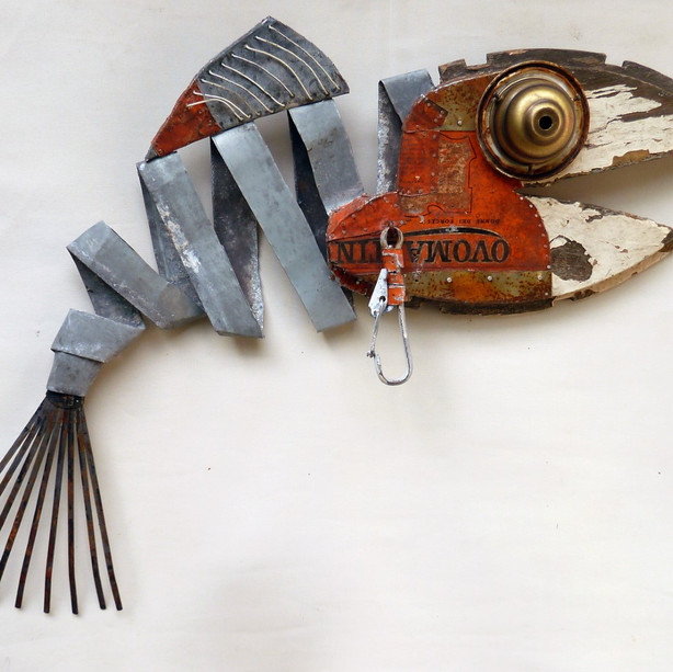 [SOLD] - Fish / wall object
