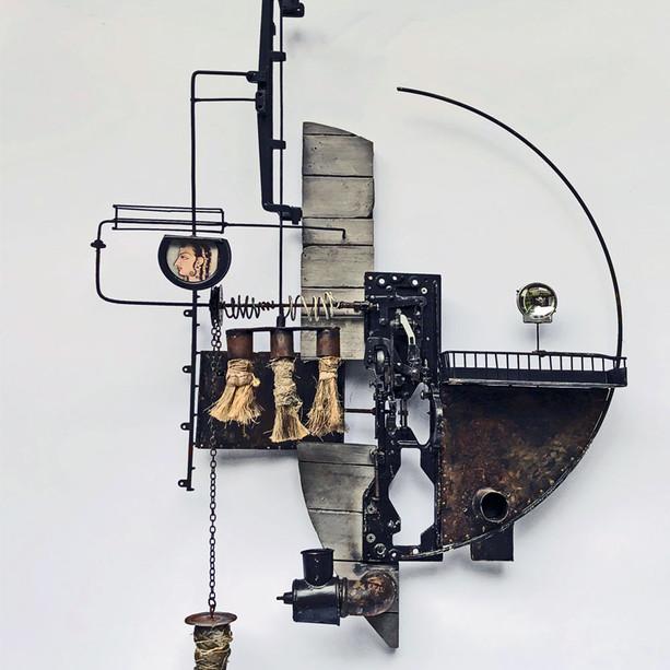 [NEW] - Wall sculpture (51x71cm)