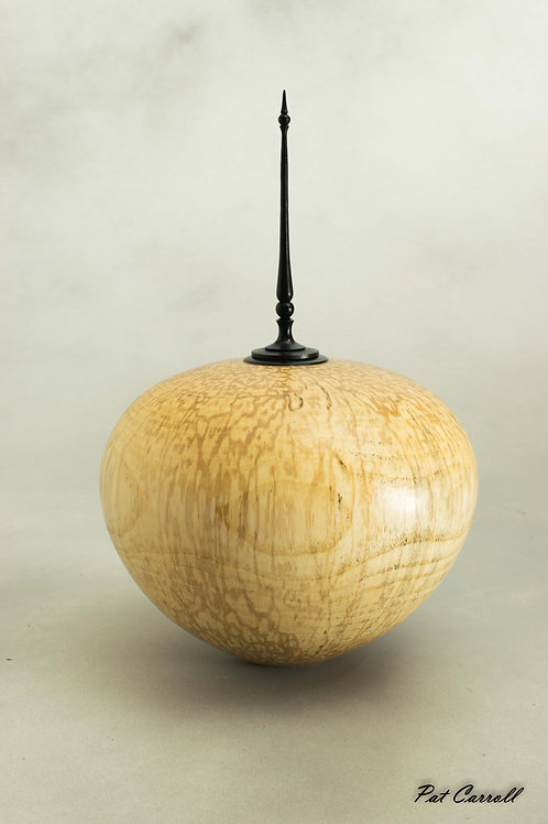 Spalted Ash Hollow Form