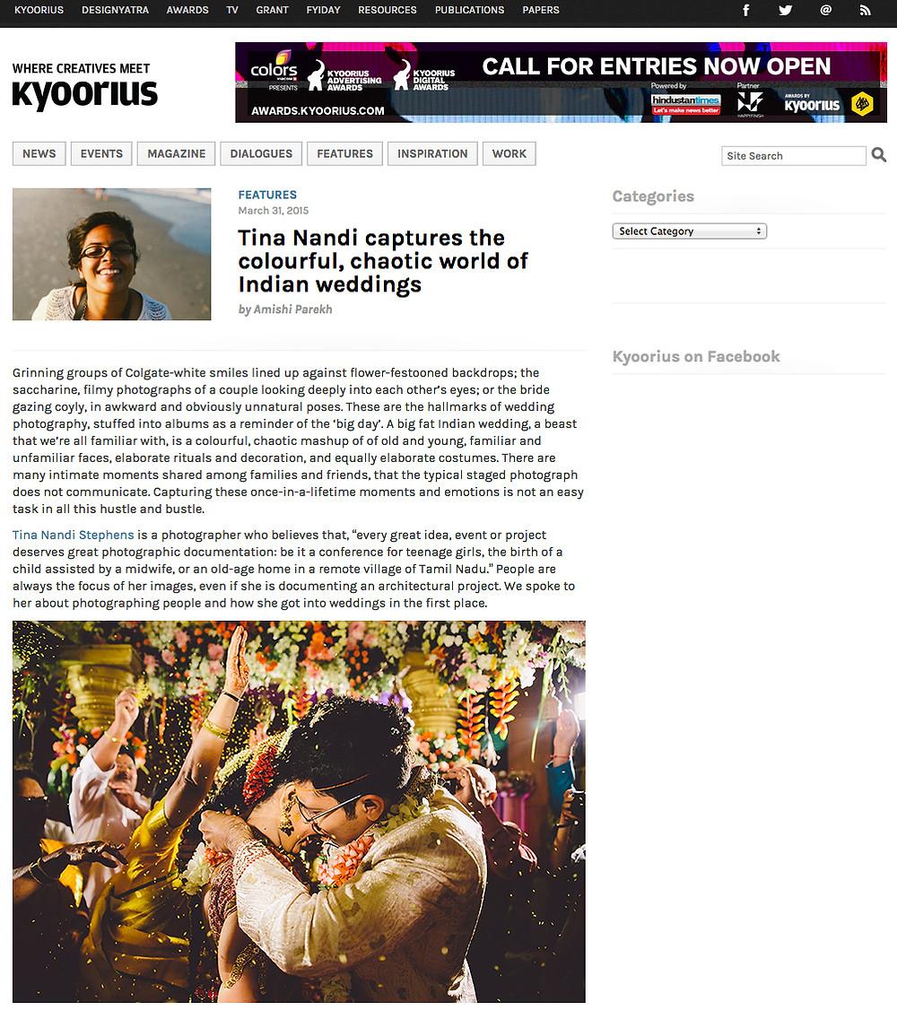 Kyoorius Interview