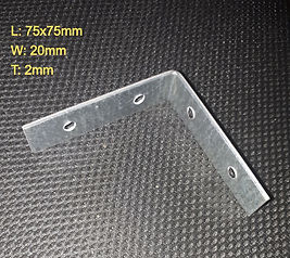 75mm Galv Angle Bracket