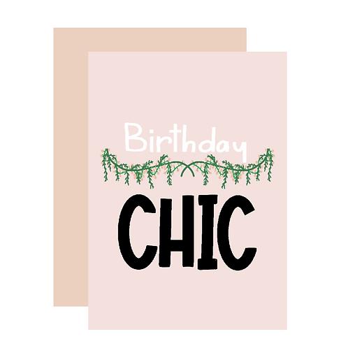 Birthday Chic