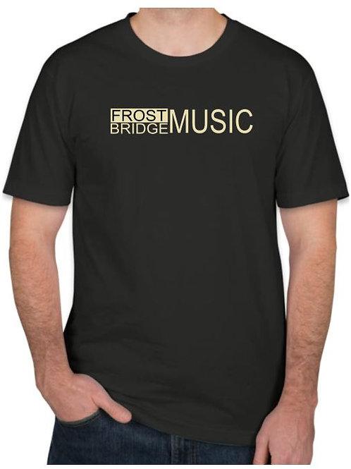 Frost Bridge Music Tshirt in Black
