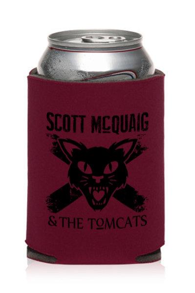 Tomcat Logo Drink Koozie