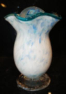Blown Glass Urn, Glass Urn
