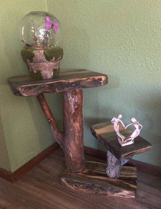 Live Edge Accent Table