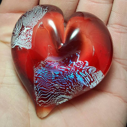 Cremation Glass Art | Glass Cremation Paperweights | Ashes to Glass Pendants