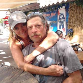 Jo and Greg ~ Tiki Time