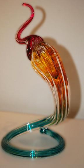 Blown Glass Sculpture