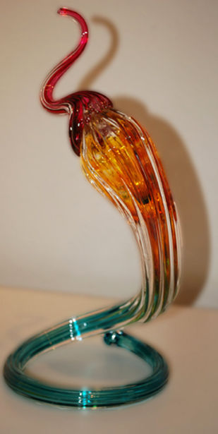Blown Glass Art Sculpture