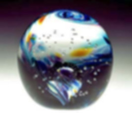 Cremation ashes in glass, Cremation Glass Art