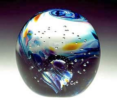 Glass with Ashes | Ashes Into Glass | Glass Cremation Jewelry | Memorial Glass Art | Ashes Into Glass Paperweight