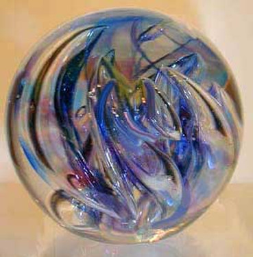 Glass Art Sculpture