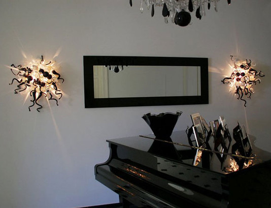 Art Glass Wall Sconce Interior Lighting