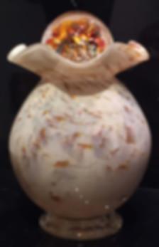 Blown Glass Cremation Urn