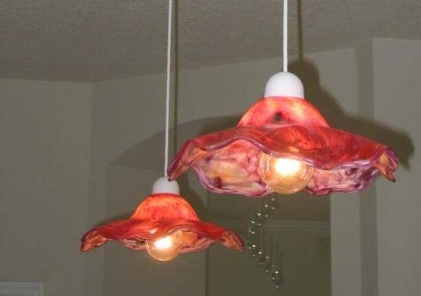 Glass Art Pendant Lights