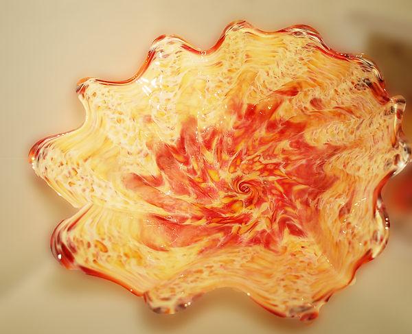 Blown Glass Platter