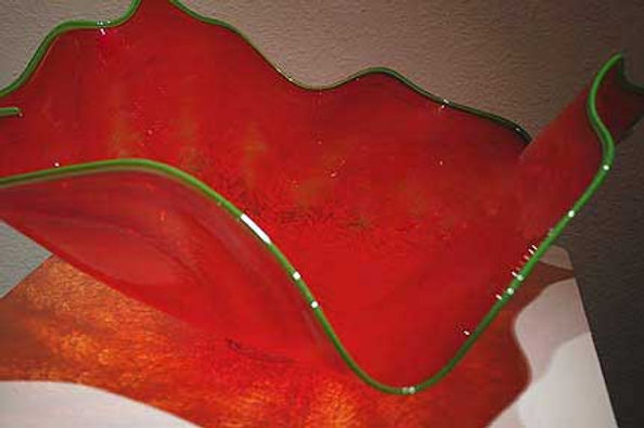 Blown Glass Bowls and Blown Glass Platters